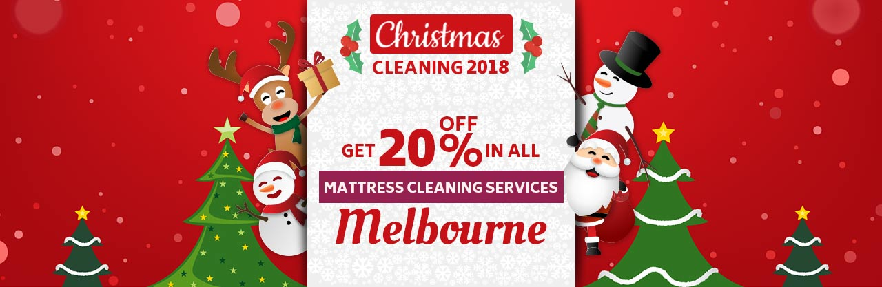 Christmas Mattress Cleaning Melbourne